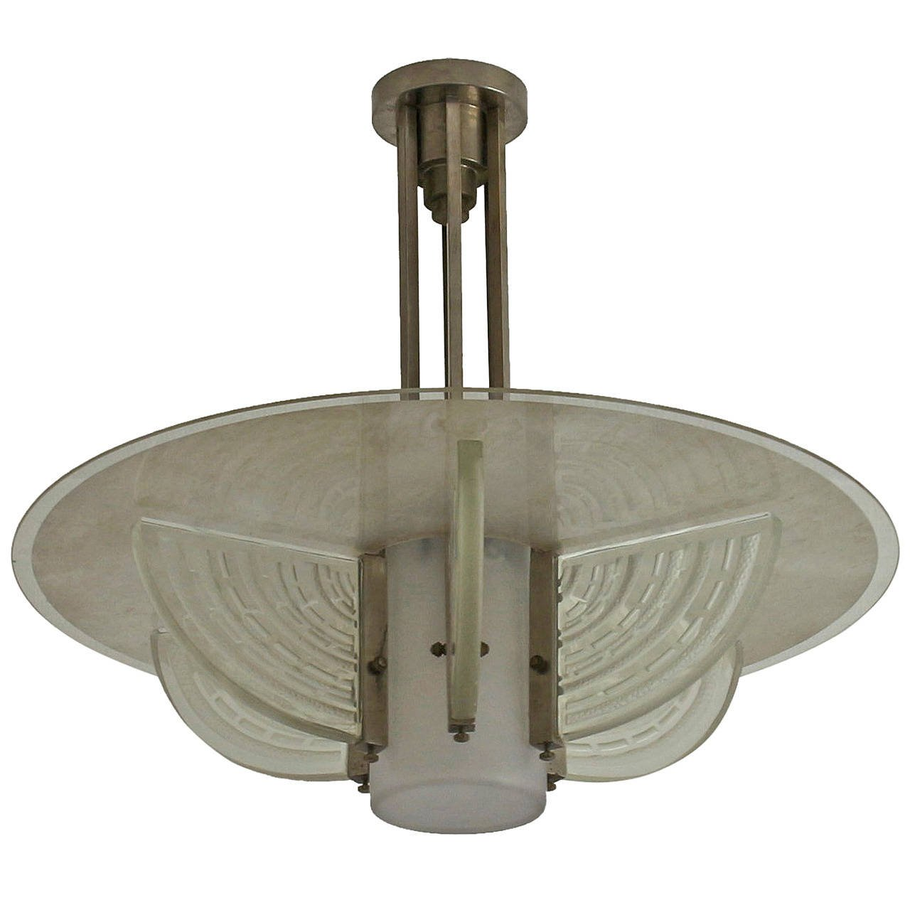 Fine french art deco chandelier by hettier et vincent conjeaud fine french art deco chandelier by hettier et vincent conjeaud chappey arubaitofo Choice Image