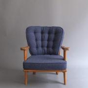1027- Paire de petits fauteuils G&C bleus (1)