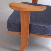 1027- Paire de petits fauteuils G&C bleus (10)