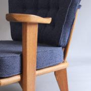 1027- Paire de petits fauteuils G&C bleus (12)