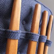 1027- Paire de petits fauteuils G&C bleus