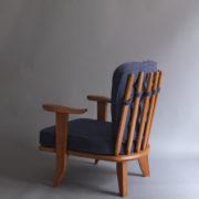 1027- Paire de petits fauteuils G&C bleus (4)