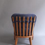 1027- Paire de petits fauteuils G&C bleus (5)