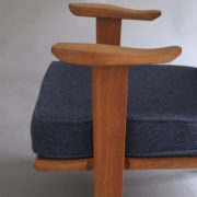 1027- Paire de petits fauteuils G&C bleus (8)