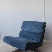 1333-4Chauffeuses tissu bleu (2)