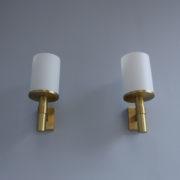 1421-7 Appliques Perzel cylindres potences dorees (6)