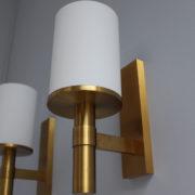 1572-4 appliques perzel cylindre potence doree platine mure plus grande (4)