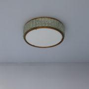 1560-Tambour Perzel pave de verre 45 dore epais (15)