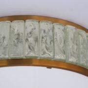 1560-Tambour Perzel pave de verre 45 dore epais (7)