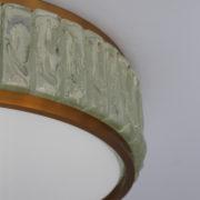 1560-Tambour Perzel pave de verre 45 dore epais (8)