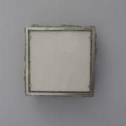 1566-Plafonnier Perzel carre paves de verre carre chrome (4)