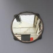 1667-Miroir rond rocaille 1