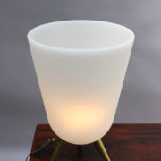 1590-Lampe Perzel vasque pieds tripode 12