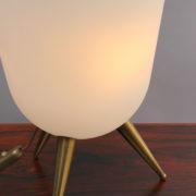 1590-Lampe Perzel vasque pieds tripode 5