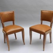 1650-Chaises cuir Tassin ceruse 11