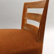 1652-Paire chaises Dominique W.H dossier bas 10