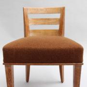 1652-Paire chaises Dominique W.H dossier bas 17