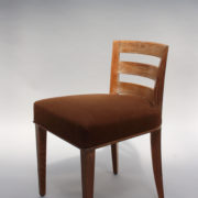 1652-Paire chaises Dominique W.H dossier bas 2
