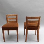 1652-Paire chaises Dominique W.H dossier bas 20