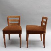 1652-Paire chaises Dominique W.H dossier bas 21