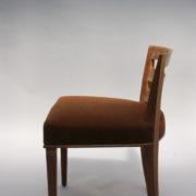 1652-Paire chaises Dominique W.H dossier bas 3