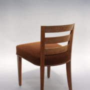 1652-Paire chaises Dominique W.H dossier bas 4