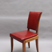 1658-6chaises Maxime Old rouges 6