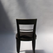 1629-4 chaises 2 bridges noirs att. Adnet 5