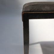 1629-4 chaises 2 bridges noirs att. Adnet 7
