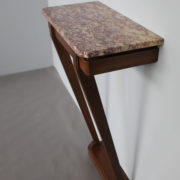 1469-Console plus profonde pieds beaux marbre (10)