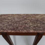 1469-Console plus profonde pieds beaux marbre (4)