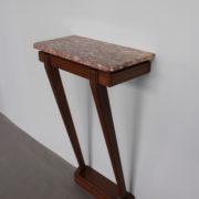 1469-Console plus profonde pieds beaux marbre (9)