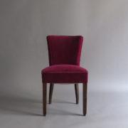 1005- 4 chaises Dudouyt violettes (1)