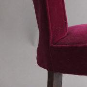 1005- 4 chaises Dudouyt violettes (10)