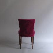 1005- 4 chaises Dudouyt violettes (5)