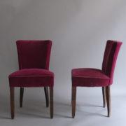 1005- 4 chaises Dudouyt violettes (6)