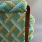 1094-Paire fauteuils clubs a carreaux verts (12)