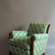1094-Paire fauteuils clubs a carreaux verts (3)