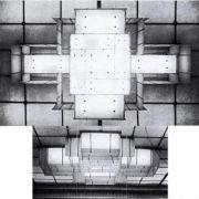 Plafonnier Perzel moderniste - Copy copy