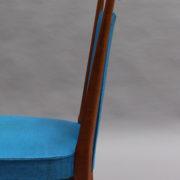 1624-6Chaises bleues 50's cadre detache 2