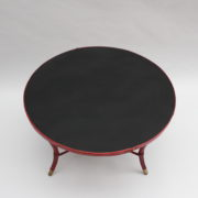1733_Gueridon rond Adnet cuir sellier rouge00002