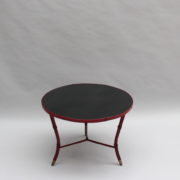 1733_Gueridon rond Adnet cuir sellier rouge00003