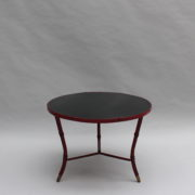 1733_Gueridon rond Adnet cuir sellier rouge00004