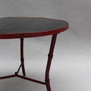 1733_Gueridon rond Adnet cuir sellier rouge00008