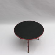 1733_Gueridon rond Adnet cuir sellier rouge00015