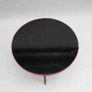 1733_Gueridon rond Adnet cuir sellier rouge00016