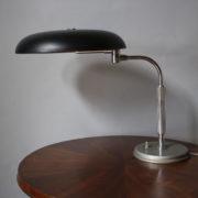 365- Lampe bureau noire desaxee