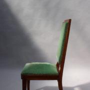 1602-12 chaises hautes velours vert00011