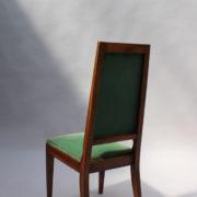 1602-12 chaises hautes velours vert00012