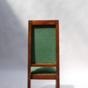 1602-12 chaises hautes velours vert00013